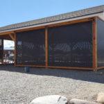 The outdoor pavillion