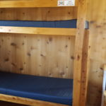 Bunk beds in Harvard Cabin