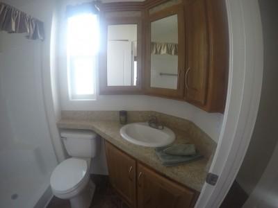 A Park Model bathroom